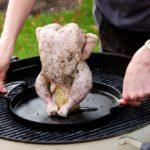 Grilované kuře na plechovce Weber Master Touch