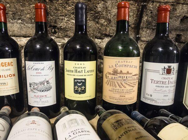 zbierka vín