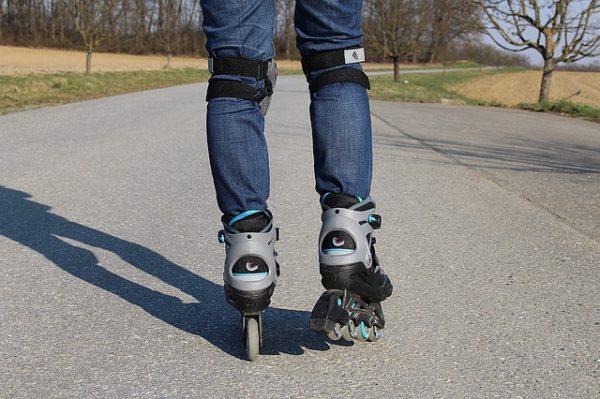 bezpečnosť na korčuliach