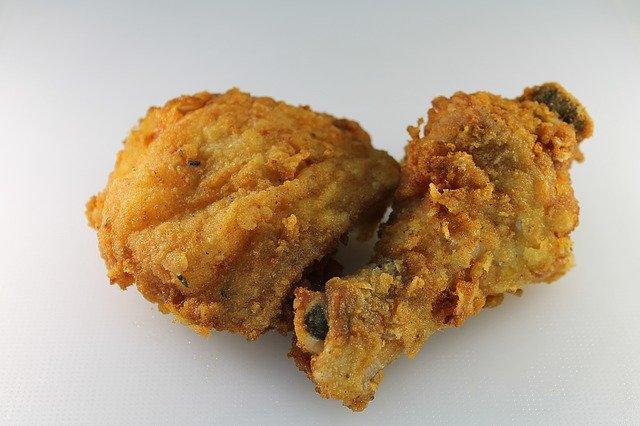 smažené kurča