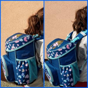 ako nosiť školskú tašku