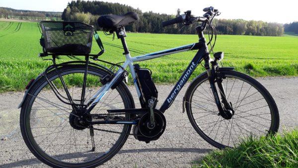 elektrobicykel na cyklotúry
