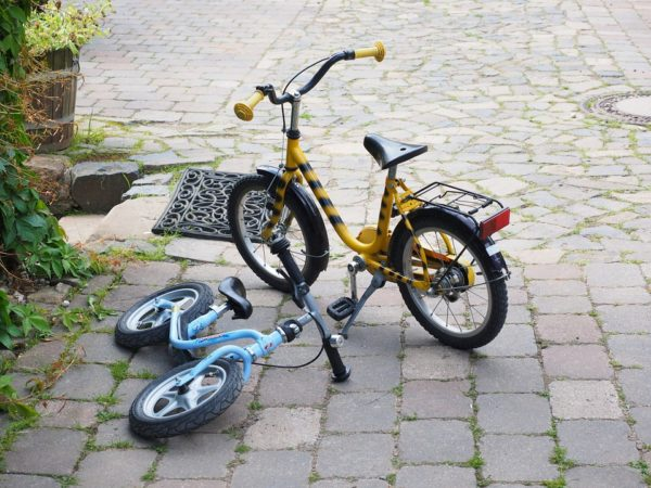 detské bicykle veľkosti