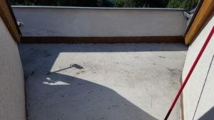 Kamenný koberec před pokládkou