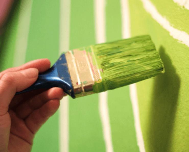 ako malovať steny