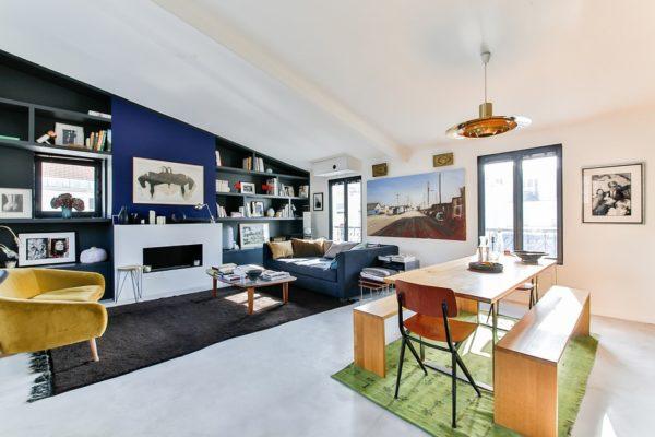ako malovať obývačku