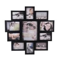 Fotorámček na 11 fotografií Family čierna