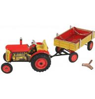 KOVAP traktor s prívesom