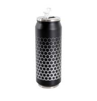 Nerezový termohrnček s pítkom TORO plechovka
