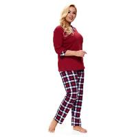Dámske pyžamo Lady in Red Plus size
