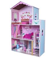 drevený domček pre bábiky