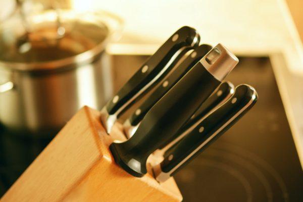 kvalitná sada nožov