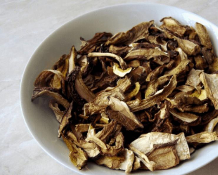 Ako sušiť huby rúra sušička