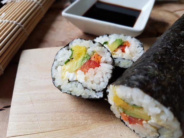ako pripraviť ryžu na sushi