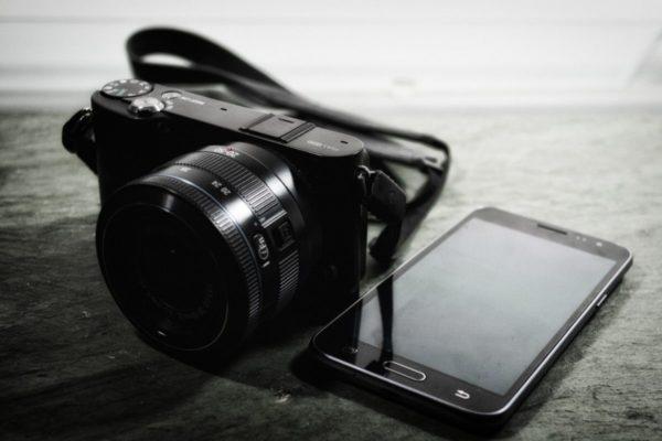 fotomobil alebo fotoaparát