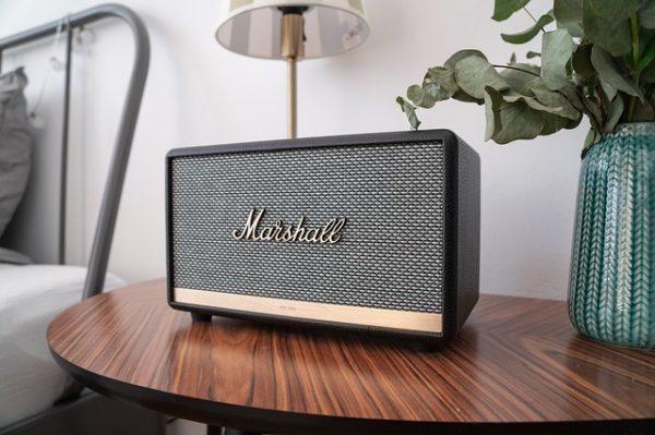 kvalitný reproduktor prenosný Marshall