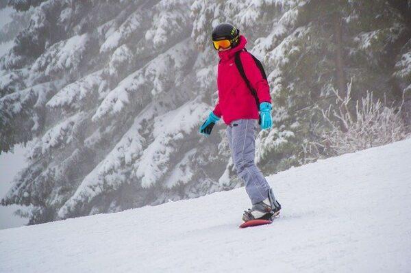 akú bundu na lyžovanie