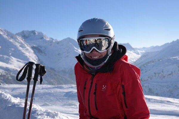 dámska lyžiarska bunda