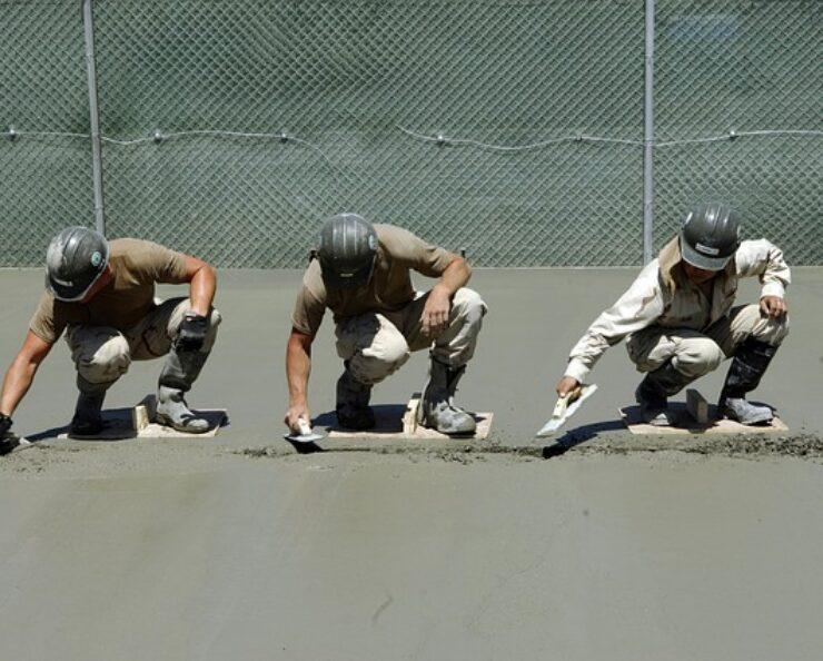 ako namiešať betón