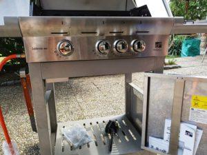 gril G21 California BBQ Premium Line horáky
