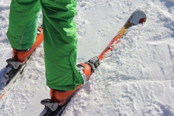 lyžiarske nohavice materiál
