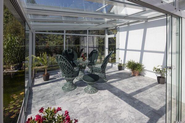 nábytok do zimnej záhrady