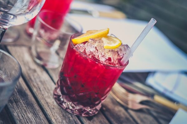 ľad do drinku