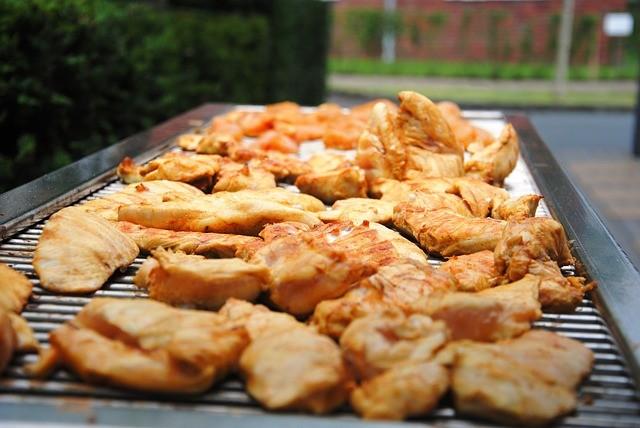 grilované kuracie mäso