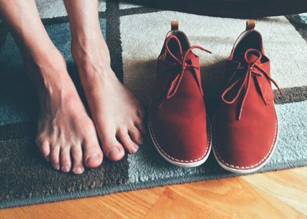 barefoot výhody