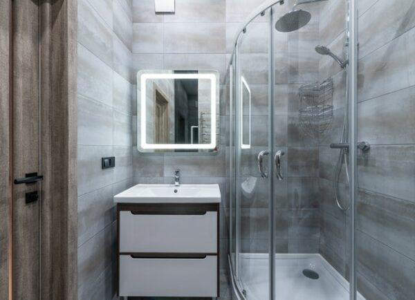 rohová sprcha