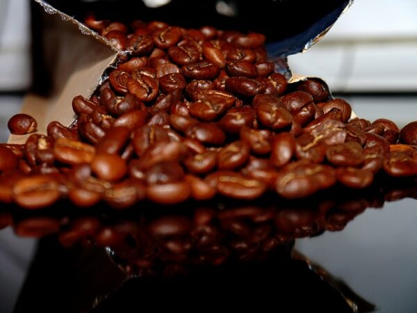 balenie kávy