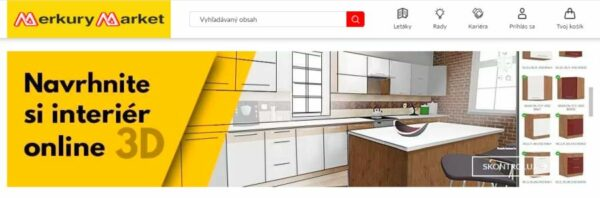 merkury market 3D online projekt